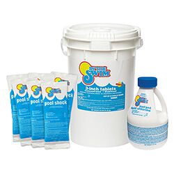 Pool chemicals how much of what is needed intheswim - Chlorine calculator for swimming pools ...