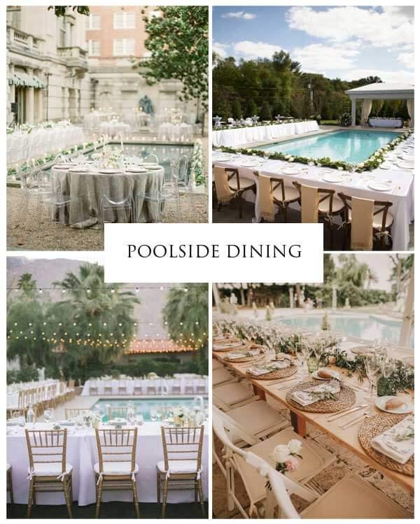 "Images via Wedding Forward ""33 Decor Ideas for your Backyard Wedding"""