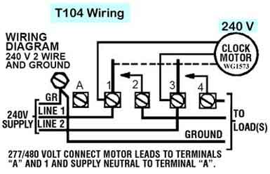 Tork Time Clock Wiring Diagram from blog.intheswim.com
