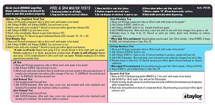 Taylor Test Kits Vs Lamotte Test Kits Intheswim Pool Blog