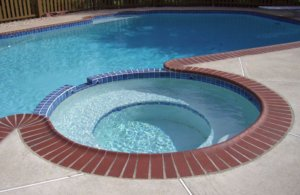 Spa Wall Repair on a Pool / Spa Combo Pool | InTheSwim Pool ...