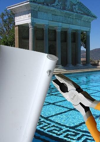 Neptune Swimming Pool Skimmer Weir Door