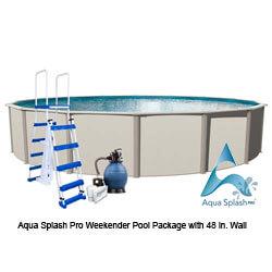 Aqua-Splash-Pro-Weekender-Pool-Package-with-48-in.-Wall