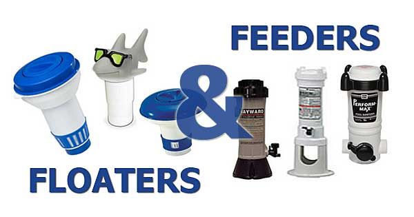 chlorine feeders and floaters