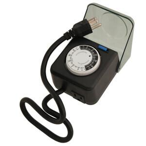 24-Hour Plug-In Pool Pump Timer