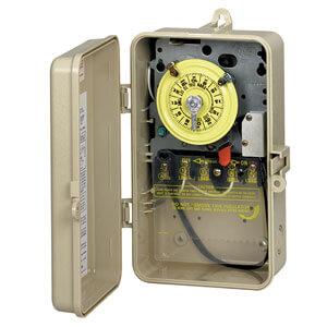 Intermatic Pool Pump Timer, 240V T104P